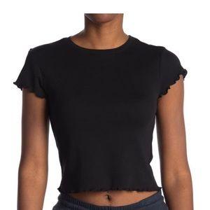 bp black lettuce edge tshirt